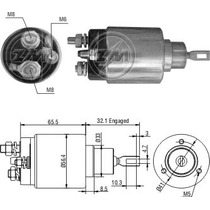 Automatico Motor Partida Arranque Ducato 810 1197 C/ Bosch