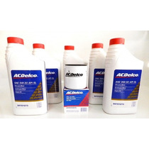 Kit Troca De Oleo Filtro Gm Ac Delco 5w 30 4litros + Filtro