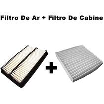 Filtro Ar + Filtro Ar Cabine City 1.5 16v 2009/2013