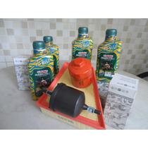 Kit Troca De Oleo Castrol 10w40 Semi-sintetico Api Sn Vw