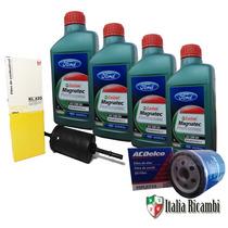 Kit Troca Oleo Ford 5w30 Filtros Ecosport Fiesta Ka Focus