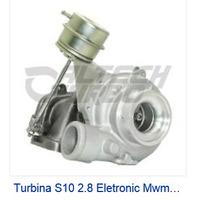 Conjunto Central Turbina Da S 10 Com Motor Mwm Elet Mod K14