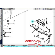 Coxim Traseiro Cambio Omega 6cc Automatico (axios)