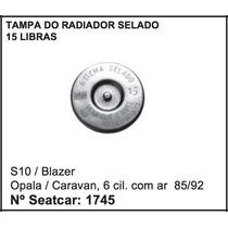 Tampa Do Radiador 15 Libras Chevrolet Opala 6cc Blazer S-10