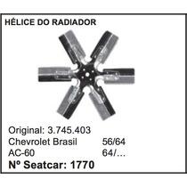 Helice Do Radiador Caminhão Chevrolet 6 Pas A-60 C-60