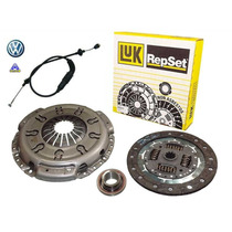 Kit Embreagem Vw Polo Classic 1.8 97/01 Luk + Cabo De Emb.