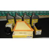 Óleo 5w40 Sn Sintético +kit Filtros Gol/ Saveiro G6/ G5 1.6