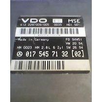 Conserto Modulo Central Injeção Mb C280, C220 Marca Vdo