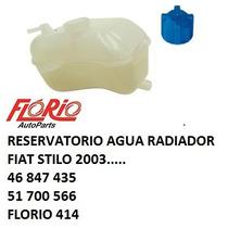 Reservatorio Agua Radiador Fiat Stilo Todos Com Tampa