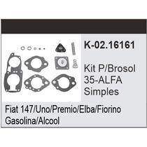Kit Carburador Fiat Uno - Gm Monza Brosol