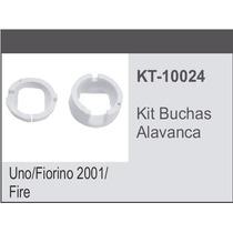 Kit Alavanca Cambio Fiat Uno 2001/ - Kit Buchas Alavanca Par