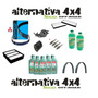 Kit Revisão Pajero Tr4 - Fitro Vela Oleo Aditivo Correia