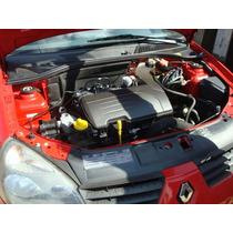 Motor 1.0 16v Flex Parcial Clio/sandero/logan Parcial