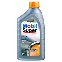 Oleo Lubrificante 100% Sintético Mobil Super - 5w40