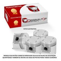 Jogo Pistao Motor 0,50 Celta 1.0 8v Vhc Gas. 01// Corsa 1.0