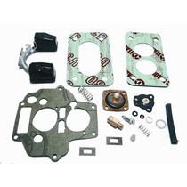 Kit Carburador Weber Duplo Escort,del Rey,belina Cht Alc,gas
