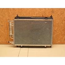 Radiador,condensador,ventoinha Com Motor New Fiesta,original