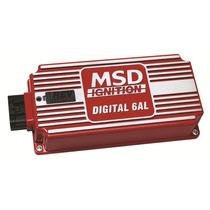 Modulo De Ignição Msd 6 Al Digital P/ 4, 6 Ou 8 Cilindros
