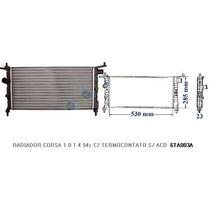 Radiador Resfriamento Corsa Hatch Mpfi 1.0 8v 96/01 - Valeo