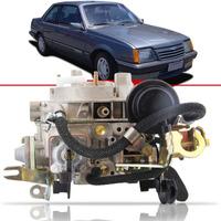 Carburador 2e Completo Solex Brosol Monza 2.0 Alcool 86-91
