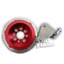 Polia Kit Roda Fônica Vermelha Motores Ap 8v Com Suporte