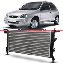 Radiador Corsa Hatch Wind 1.6 Gasolina 98 99 00 01 02 Sem Ar