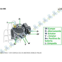 Regulador Voltagem Gm Celta 1.0 Vhc 00/... - Gauss