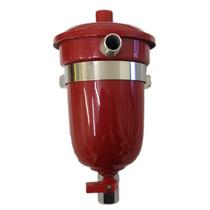 Reservatório Respiro Óleo 500ml Aluminio Universal Vermelho