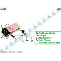 Regulador Voltagem 55a Ford Escort Hobby L Cht 1.6 - Gauss