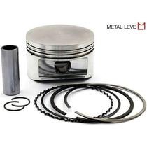 Pistao C/anel Gol/santana 1.8 Gas1.00mm Metal Leve 84/.ap