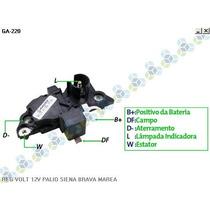 Regulador Voltagem Fiat Uno 1.0 98/03 - Gauss