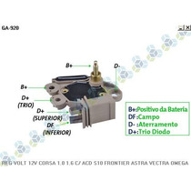 Regulador Voltagem Gm Corsa 1.0 1.6 94/... - Gauss