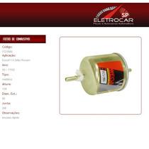 Filtro De Combustível Ford Escort 1.6 Zetec Rocam 00 A 02