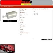 Filtro De Combustível - Blazer 4.3 V6 Mpfi 98 A 12/04
