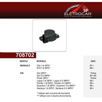 Sensor De Posição Borboleta Renault Clio, R19 1.6 96 Em Dian