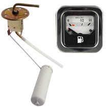 Bóia Elétrica + Indicador Combustível Fusca Br Quadrado Vw