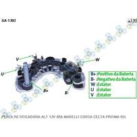 Placa Retificadora 12v 85a Gm Prisma 03/... - Gauss