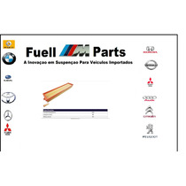 Filtro Ar Motor C4 / 307 / 308 / 207 / Hoggar 1.6 16v Flex
