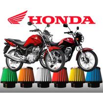 Filtro Esportivo Honda Titan 150 Injeção Race Chrome