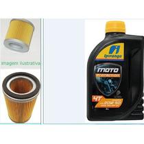 Filtro De Ar E Oleo Dafra Apache 150 + Oleo 20w50 1 Litro