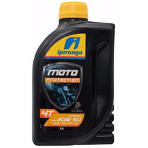 Oleo Ipiranga Moto 4t Protection 20w50 Kit 10lts