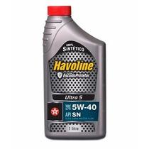 Óleo Havoline Sae 5w40 Api Sn 100% Sintético Vw Audi Bmw