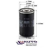 Filtro Oleo Motor Vw Gol Ap 1.6 1.8 2.0