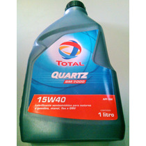 Óleo P/ Motor Total Quartz 7000 Semi Sintético Api Sm 15w40