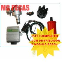 Igniçao Eletronica Fusca , Kombi Distribuidor E Modulo Bosch