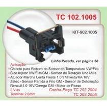 Chicote Rearo 2 Vias Sensor Temp Vw Fiat Gm Ford #1005