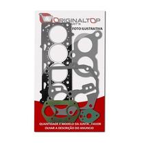 Jogo Junta Motor Fiat Fire 1.4 8v Junta Cabeçote Aço C/reten
