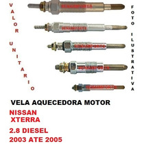 Vela Aquecedora Nissan Xterra 2.8 Diesel 2003 Ate 2005
