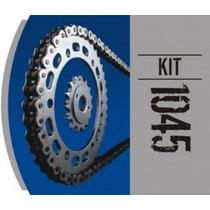 71896 Kit1045 Riffel Corrente,coroa,pinhão Xtz250 Lander 09