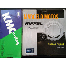 Kit Relação Com Retentor Kawasaki Z 750 Riffel/kmc
